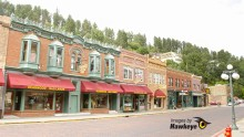 Main Street in Deadwood, S. Dakota.