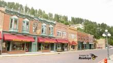 Main Street in Deadwood, S. Dakota.