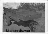 Home Built RV Kitchen Drawer