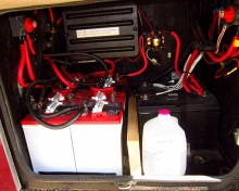 Pay special attention to what's in your RV battery compartment.