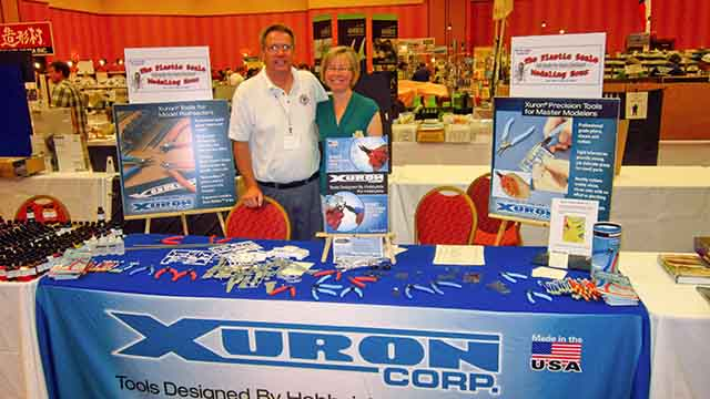 Gerald and Shari at the IPMS National Convention 2013.