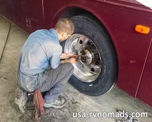 Safety first: Know your RV tire age and replace before they age out.