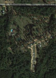 Aerial View of Wilderness RV Park, Robertsdale AL.