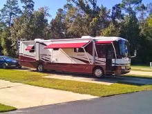 Our site at Riverside RV Resort, Robertsdale, AL