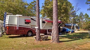 Our Site at Wilderness RV Park, Robertsdale AL.