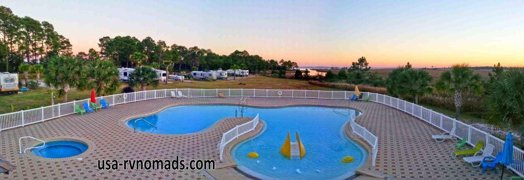 Sunset Isle RV & Yacht Club.