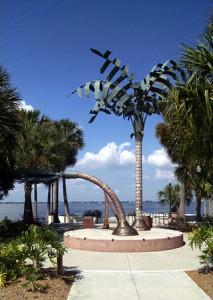 Hurrican Charley Memorial.