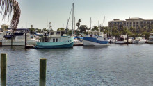 Laishley Municipal Harbor in Punta Gorda.