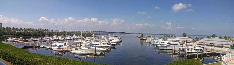 Laishley Municipal Harbor in Punta Gorda.