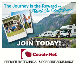 We use and recommend Coach-Net Roadside Assistance.