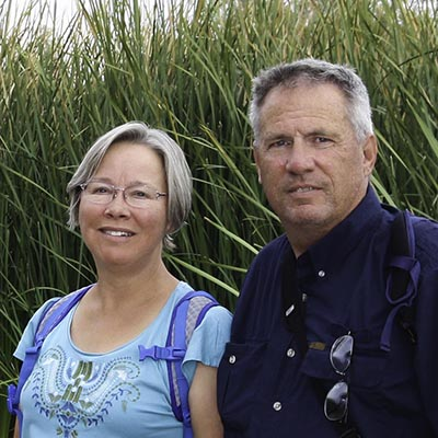 Gerald and Shari Voigt.
