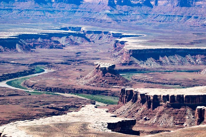 The Green River, Canyonlands National Park Utah