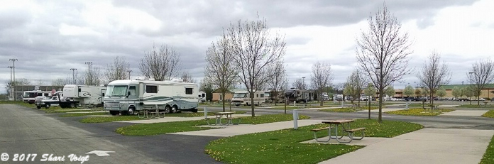 Meskwaki Casino RV Park in Tama, IA.