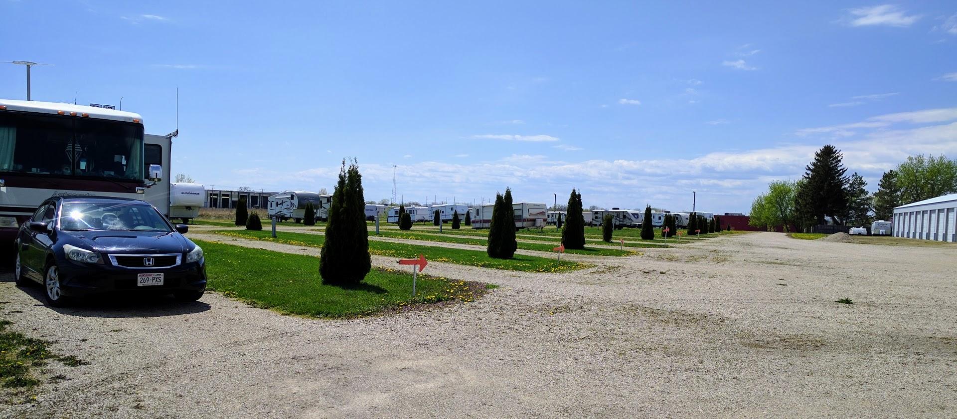 Omro RV Park in May 2017.