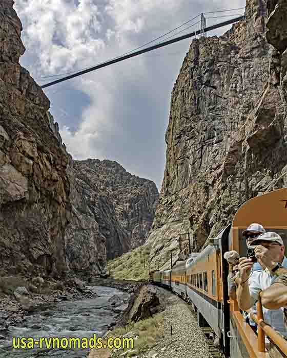 A delightful ride aboard the Royal Gorge Railway.