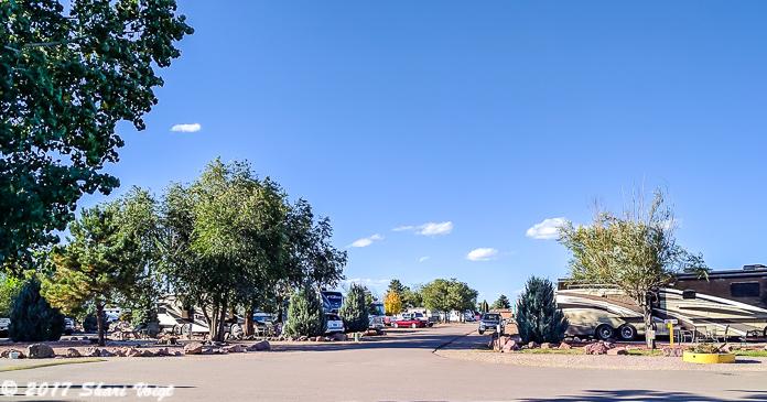 A sunny day at Colorado Springs KOA