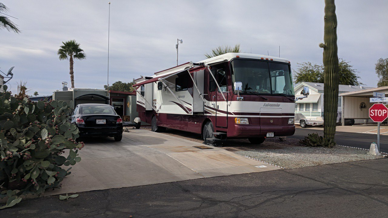Choose your parking spot with RV security in mind.