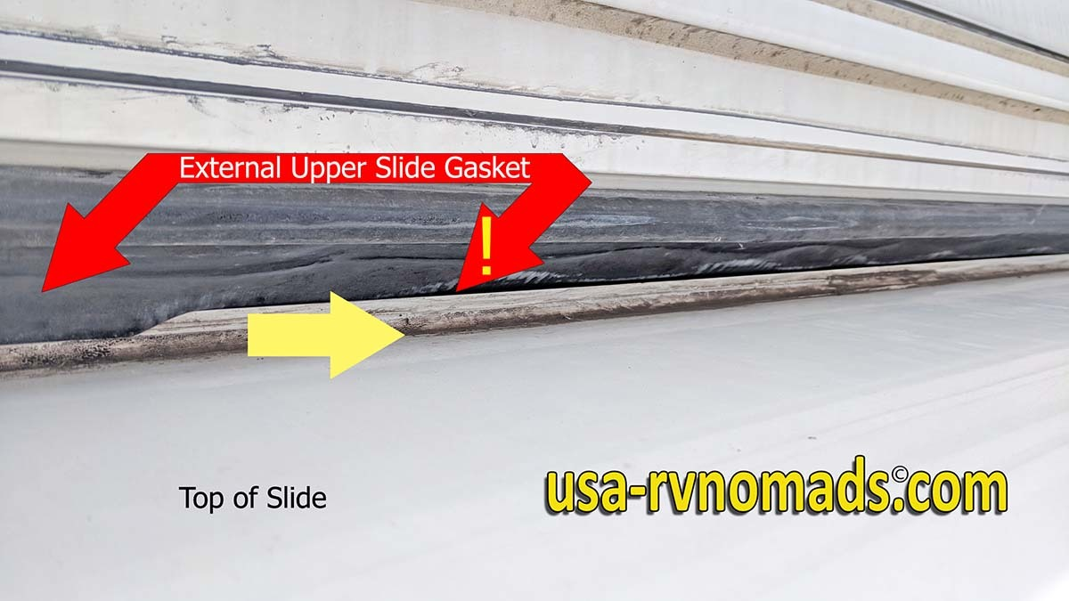 Why is My RV Slide Leaking Through the Ceiling? - USA RV Nomads