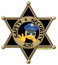 RV Security and Safety Badge.