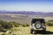 Jeep On Mtn Top